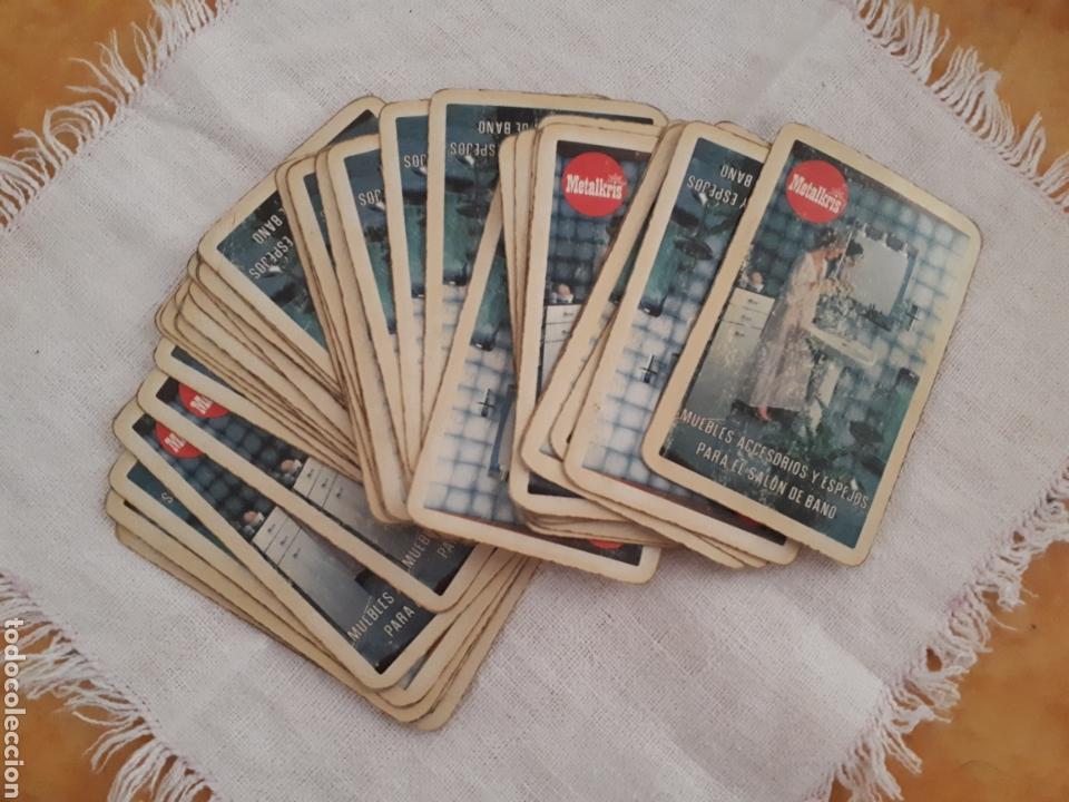 BARAJA CARTAS PUBLICIDAD METALKRIS (Juguetes y Juegos - Cartas y Naipes - Baraja Española)