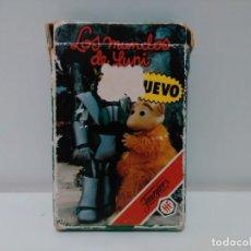 Barajas de cartas: BARAJA CARTAS, LOS MUNDOS DE YUPI. FOURNIER 1988. Lote 158922042
