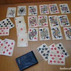 Barajas de cartas: ANTIGUA BARAJA DE POKER. Lote 158938066