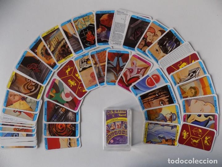 LIBRERIA GHOTICA. BARAJA SCHÜTZE TAROT. ADIVINACIÓN.55 CARTAS. 1980. (Juguetes y Juegos - Cartas y Naipes - Otras Barajas)