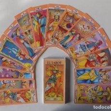 Baralhos de cartas: LIBRERIA GHOTICA. BARAJA DE TAROT MARSELLA. ARCANOS MAYORES. GRAN TAMAÑO.1980.. Lote 158979066