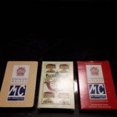 Barajas de cartas: REPRODUCCION BARAJA 40 NAIPES DE MACHARAVIAYA DE 1787. PROMO FUNDACION MÁLAGA. RARA.. Lote 158980232
