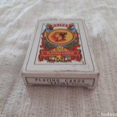 Barajas de cartas: BARAJA CARTAS PLAYING CARDS NAIPE ESPAÑOL SAVINA 50 CARTAS. Lote 159060098