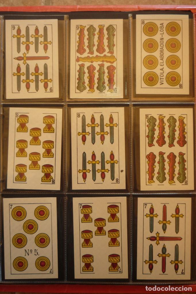 Barajas de cartas: BARAJA AÑO 1939 MARCA LA LEGÍTIMA LOBA DE JUAN ROURA. 48 CARTAS. NUEVA.TIMBRE PARA EXPORTACIÓN - Foto 3 - 159154930