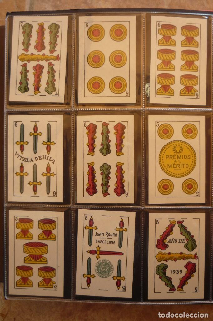 Barajas de cartas: BARAJA AÑO 1939 MARCA LA LEGÍTIMA LOBA DE JUAN ROURA. 48 CARTAS. NUEVA.TIMBRE PARA EXPORTACIÓN - Foto 4 - 159154930