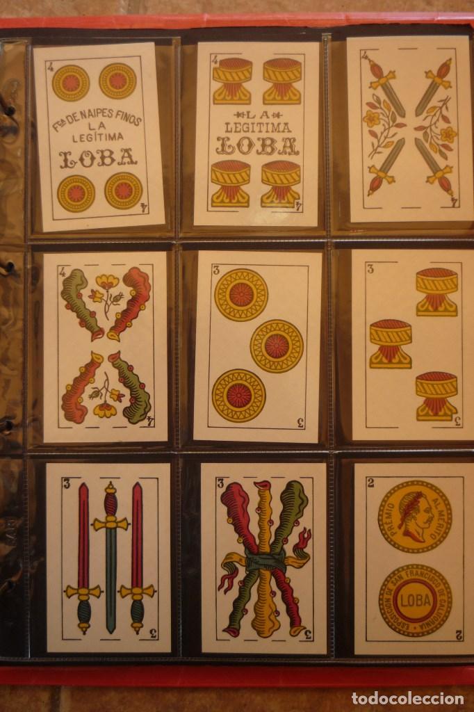 Barajas de cartas: BARAJA AÑO 1939 MARCA LA LEGÍTIMA LOBA DE JUAN ROURA. 48 CARTAS. NUEVA.TIMBRE PARA EXPORTACIÓN - Foto 5 - 159154930