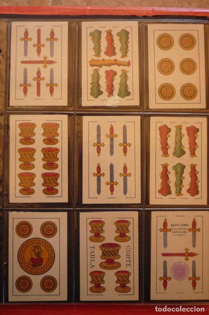 Barajas de cartas: BARAJA AÑO 1951 MARCA CIERVO DE HIJA DE A. COMAS. 40 CARTAS. NUEVA. ESQUINAS RECTAS. - Foto 3 - 159157590