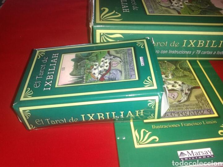 Barajas de cartas: IXBILIAH TAROT(CARTAS +LIBRO) - Foto 4 - 159203510