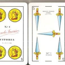 Barajas de cartas: BARAJA, FOURNIER, PUBLICIDAD PISCIS-28 MAQUINAS RECREATIVAS, NUEVA SIN PRECINTAR. Lote 159276970