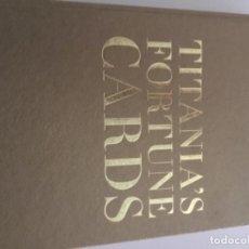 Barajas de cartas: CARTAS TAROT TITANIA'S FORTUNE. Lote 159392054