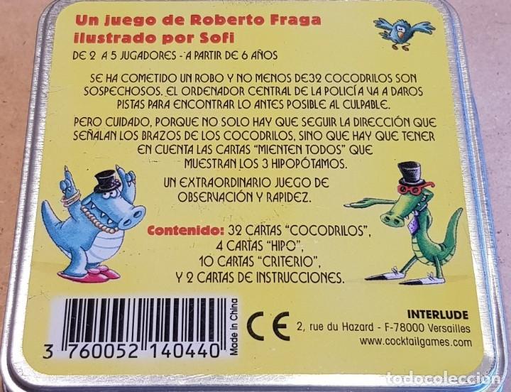 Barajas de cartas: RAPID CROCO / 32 SOSPECHOSOS Y 1 CULPABLE / A FALTA DE UNA CARTA. / NUEVO. - Foto 2 - 159485766