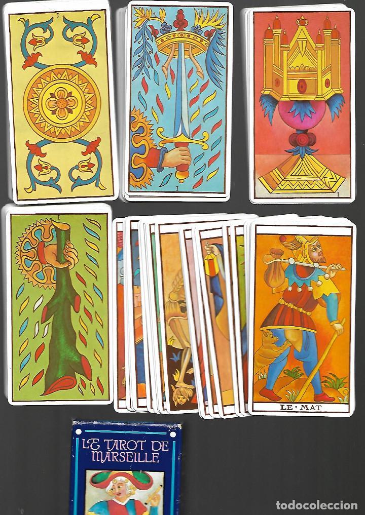 BARAJA DE TAROT DE MARSEILLE 80 CARTAS EN PERFECTO ESTADO (Juguetes y Juegos - Cartas y Naipes - Barajas Tarot)