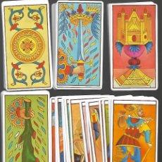 Barajas de cartas: BARAJA DE TAROT DE MARSEILLE 80 CARTAS EN PERFECTO ESTADO. Lote 159627170