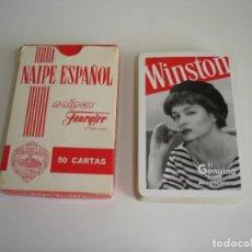 Barajas de cartas: BARAJA CARTAS HERACLIO FOURNIER: WINSTON. - 50 NAIPES -. Lote 159644038