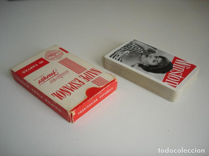 Barajas de cartas: BARAJA CARTAS HERACLIO FOURNIER: WINSTON. - 50 NAIPES - - Foto 3 - 159644038