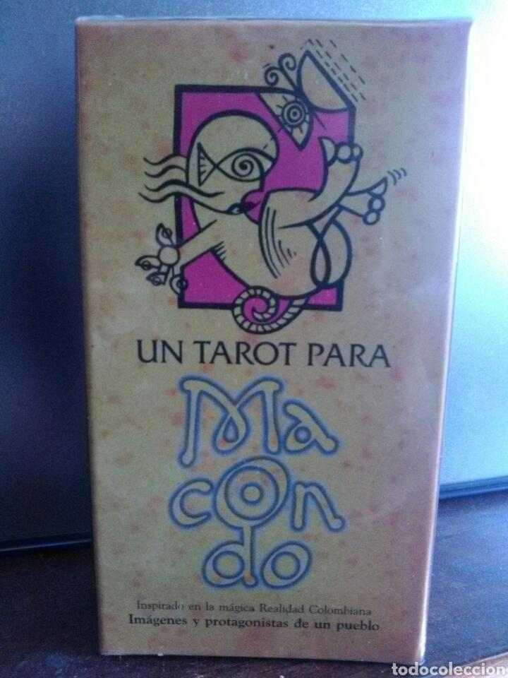 LIQUIDACIÓN STOCK!!MACONDO TAROT DESCATALOGADO.NUEVO (Juguetes y Juegos - Cartas y Naipes - Barajas Tarot)