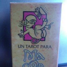 Barajas de cartas: MACONDO TAROT DESCATALOGADO.NUEVO. Lote 159649370
