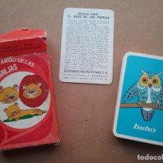 Barajas de cartas: BARAJA INFANTIL EL JUEGO DE LAS PAREJAS EDICIONES RECREATIVAS 1959. Lote 159684462