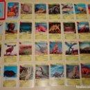 Barajas de cartas: BARAJA DE CARTAS INFANTIL. CUARTETOS. DINOSAURIOS. ALEMANIA. 70 GR. Lote 159684750