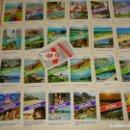 Barajas de cartas: CURIOSA BARAJA DE CARTAS AÑO 1977 VACACIONES HOLANDA. MALLORCA, CANARIAS, COSTA SOL, BENIDORM. 70 GR. Lote 159685402