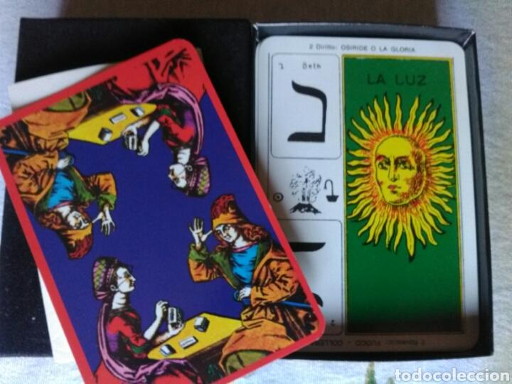 TAROCCO EGIZIANO. CARTAS TAROT (Juguetes y Juegos - Cartas y Naipes - Barajas Tarot)