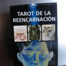 Barajas de cartas: TAROT DE LA REENCARNACIÓN.. Lote 159724412