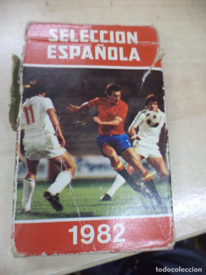 BARAJA DE 32 CARTAS SELECCIÓN ESPAÑOLA 1982.HERACLIO FOURNIER AFE. (Juguetes y Juegos - Cartas y Naipes - Otras Barajas)