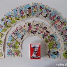 Mazzi di carte: LIBRERIA GHOTICA. BARAJA DE FAMILLES LA DUCALE OLYMPIC. 1980. . Lote 159904770