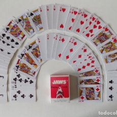Jeux de cartes: LIBRERIA GHOTICA. BARAJA JAWS 1001 PLAYING CARDS. 1980.POKER.. Lote 159904926
