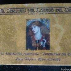 Barajas de cartas: ORÁCULO CÓDIGO DEL GRIAL.. Lote 159939502