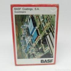 Barajas de cartas: BARAJA DE CARTAS FOURNIER PUBLICIDAD BASF GUADALAJARA. NUEVAS A ESTRENAR.. Lote 160027162