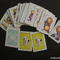 Barajas de cartas: MINI BARAJA PUBLICIDAD PRODUCTOS CHURRUCA-PIPAS-VER FOTOS-(V-16.344). Lote 160032222