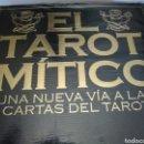 Barajas de cartas: EL TAROT MÍTICO CARTAS +LIBRO.. Lote 160073297