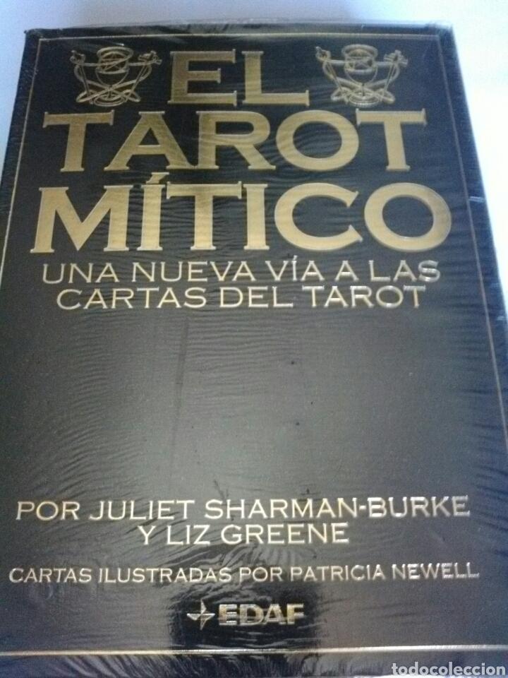 EL TAROT MITICO. NUEVO. CARTAS +LIBRO. (Juguetes y Juegos - Cartas y Naipes - Barajas Tarot)