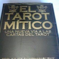 Barajas de cartas: EL TAROT MITICO. NUEVO. CARTAS +LIBRO.. Lote 160073297