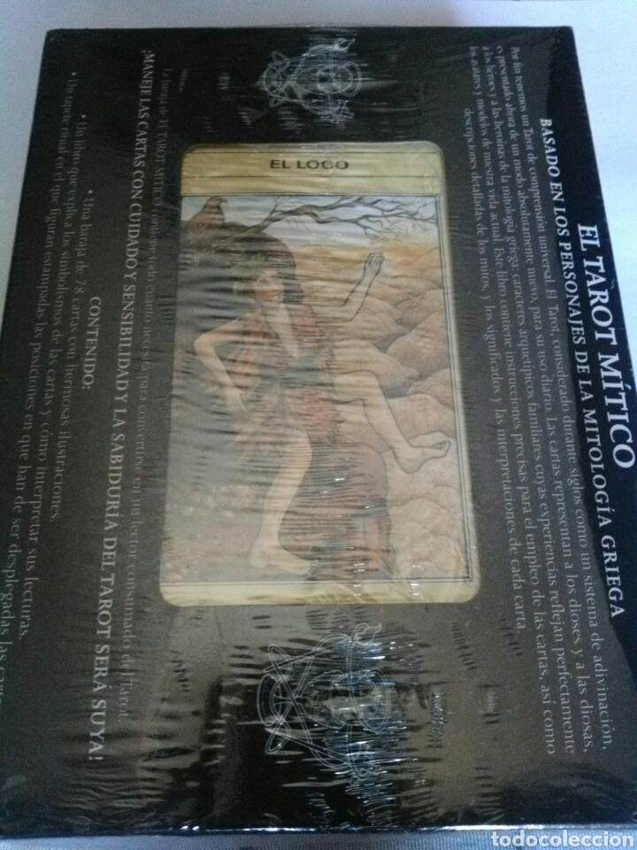 Barajas de cartas: EL TAROT MITICO. NUEVO. Cartas +Libro. - Foto 2 - 160073297