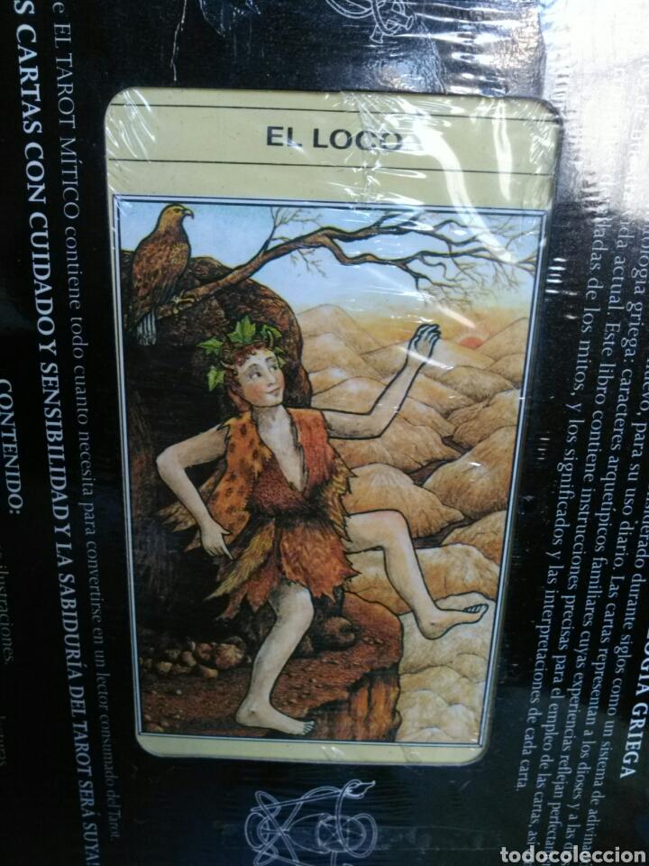 Barajas de cartas: EL TAROT MITICO. NUEVO. Cartas +Libro. - Foto 3 - 160073297