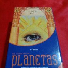 Barajas de cartas: CARTAS DE LOS PLANETAS.. Lote 160145242