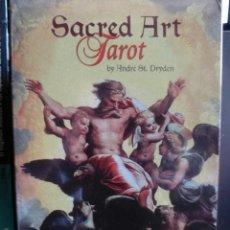 Barajas de cartas: SACRED ART. TAROT.. Lote 160145618