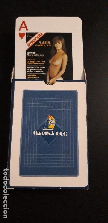 Barajas de cartas: .1 BARAJA DE ** P0KER . PORTADAS DE INTERVIU . MARISOL ** MARINA DOR 54 CARTAS 2005 - Foto 3 - 160185666