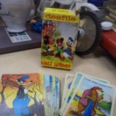 Barajas de cartas: LOTE BARAJA DESFILE WALT DISNEY AÑO 1957 Y AÑO 1974.FOURNIER VITORIA.. Lote 176885590