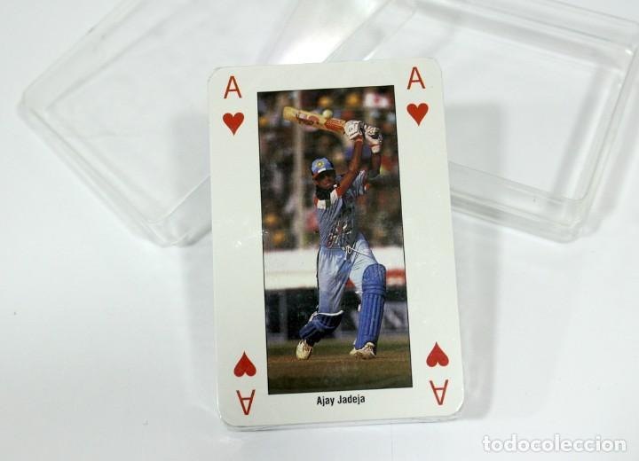Barajas de cartas: Baraja WORLD CUP CRICKET ENGLAND 1999 - Foto 2 - 160226938