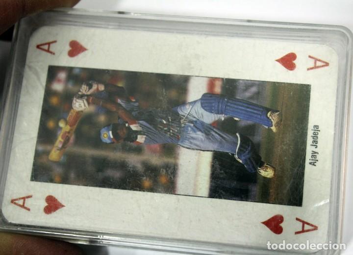 Barajas de cartas: Baraja WORLD CUP CRICKET ENGLAND 1999 - Foto 5 - 160226938