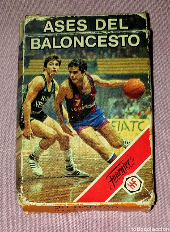 BARAJA DE CARTAS FOURNIER PUBLICIDAD ASES DE BALONCESTO (Juguetes y Juegos - Cartas y Naipes - Otras Barajas)