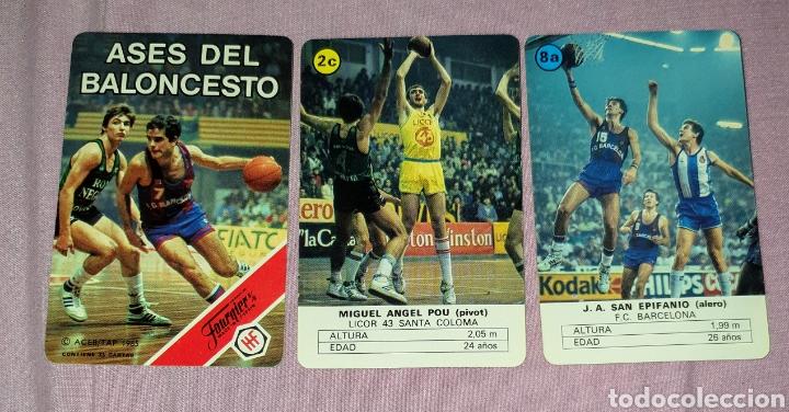Barajas de cartas: Baraja de cartas Fournier publicidad Ases de Baloncesto - Foto 3 - 160273689