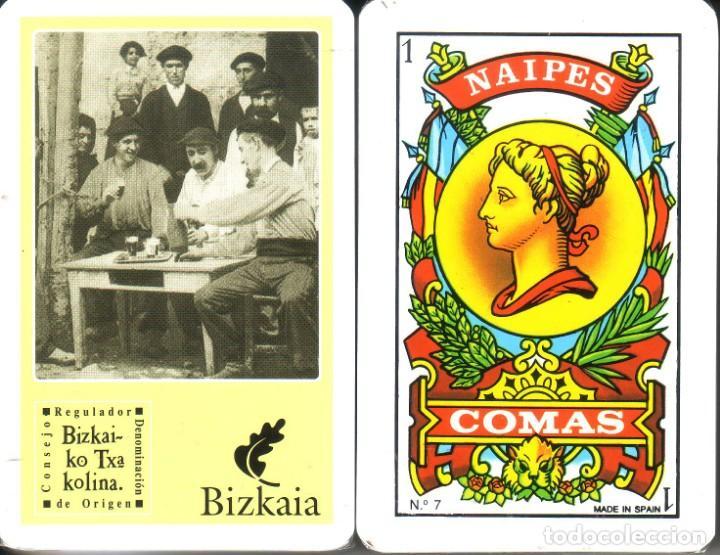 BIZKAIA - BIZKAIKO TXAKOLINA - BARAJA ESPAÑOLA DE 40 CARTAS (Juguetes y Juegos - Cartas y Naipes - Otras Barajas)