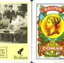 Barajas de cartas: BIZKAIA - BIZKAIKO TXAKOLINA - BARAJA ESPAÑOLA DE 40 CARTAS. Lote 160273898