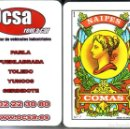 Barajas de cartas: OCSA- BARAJA ESPAÑOLA DE 40 CARTAS. Lote 160274350