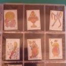 Barajas de cartas: BARAJA 'LA MADRILEÑA' DE G. ESTRADA, MADRID. AÑO 1870. 40 NAIPES TAMAÑO 7,3X4,7 CM.. Lote 160277022