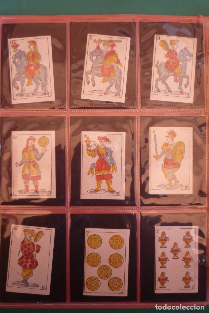 Barajas de cartas: BARAJA 'LA MADRILEÑA' DE G. ESTRADA, MADRID. AÑO 1870. 40 NAIPES TAMAÑO 7,3X4,7 CM. - Foto 2 - 160277022